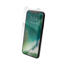 XQISIT Tough Glass CF for iPhone XS Max clear-1