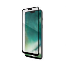 XQISIT Tough Glass CF for OnePlus 6 black-1