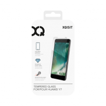 XQISIT Tough Glass CF for Y7 (2018) clear-1