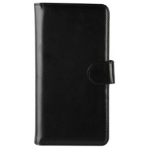 Xqisit Universal Wallet Case Eman Størrelse XL, Sort-1
