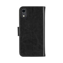 XQISIT Wallet Case Eman for iPhone XR black-1
