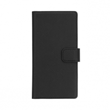XQISIT Wallet case Viskan for P9 black-1