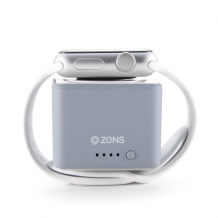 Zens Apple Watch Powerbank 1300mAh grey-1