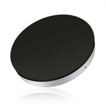 Zens Single Wireless Charger round black-1